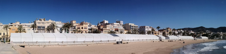 Un año más, nuestra infraestructura en Sitges 1